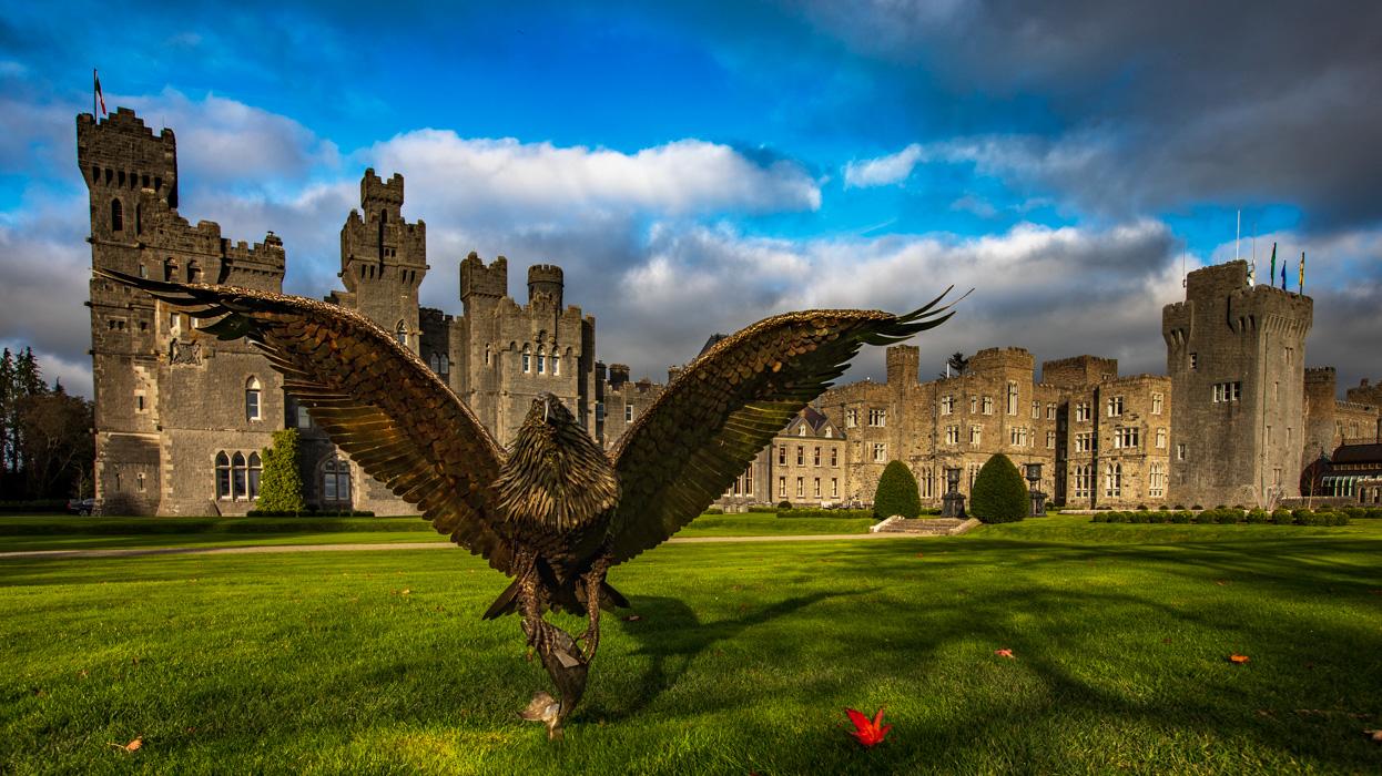 Ashford castle Eagle, County Mayo, Ireland