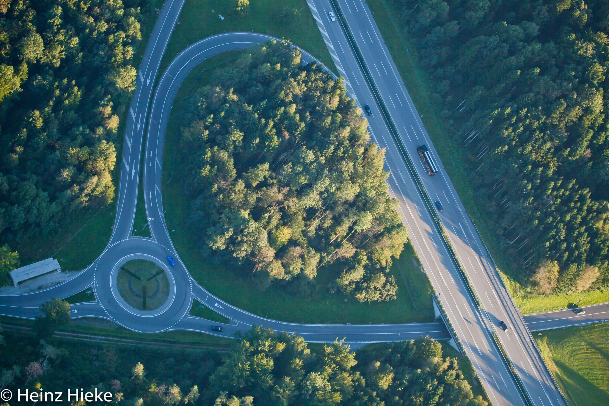 Autobahnabfahrt, Switzerland