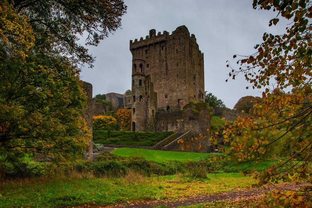 Blarney Castle autumn leaves, Ireland