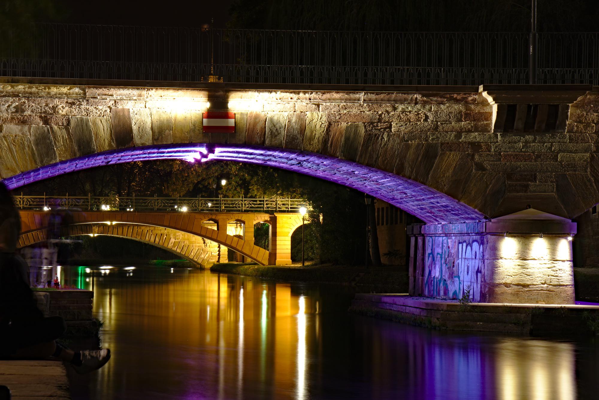 Bridges at Canal des Faux Remparts, France