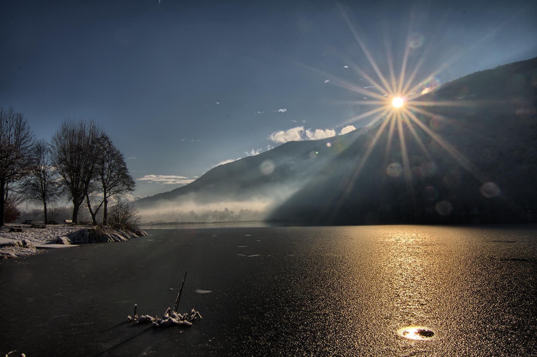 Endine Lake, Italy