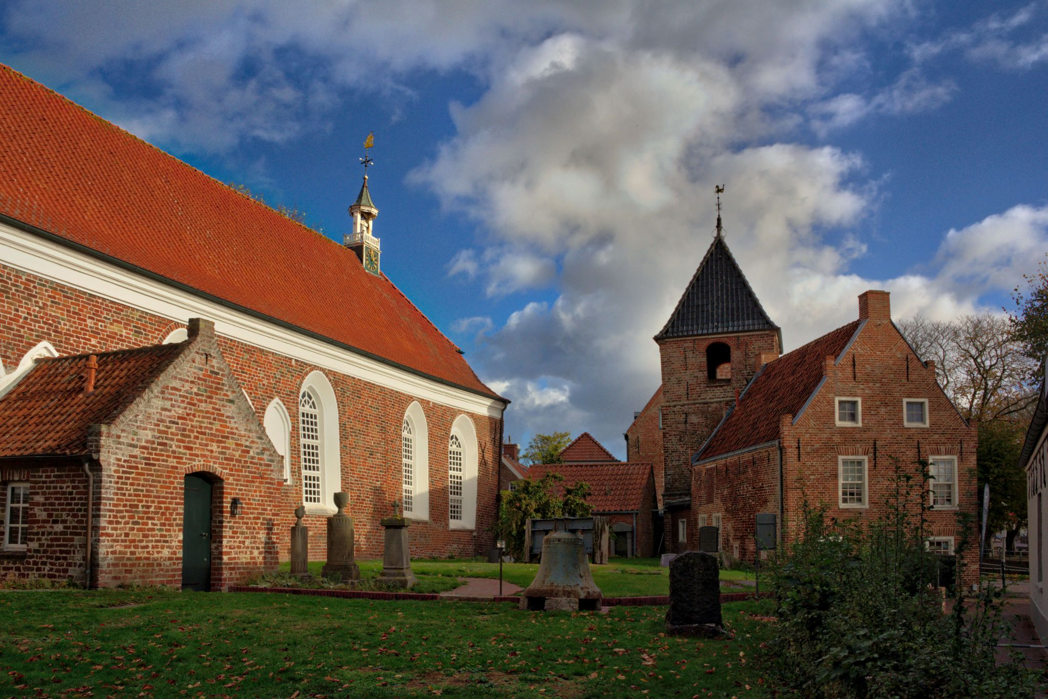 Greetsiel Church, Germany