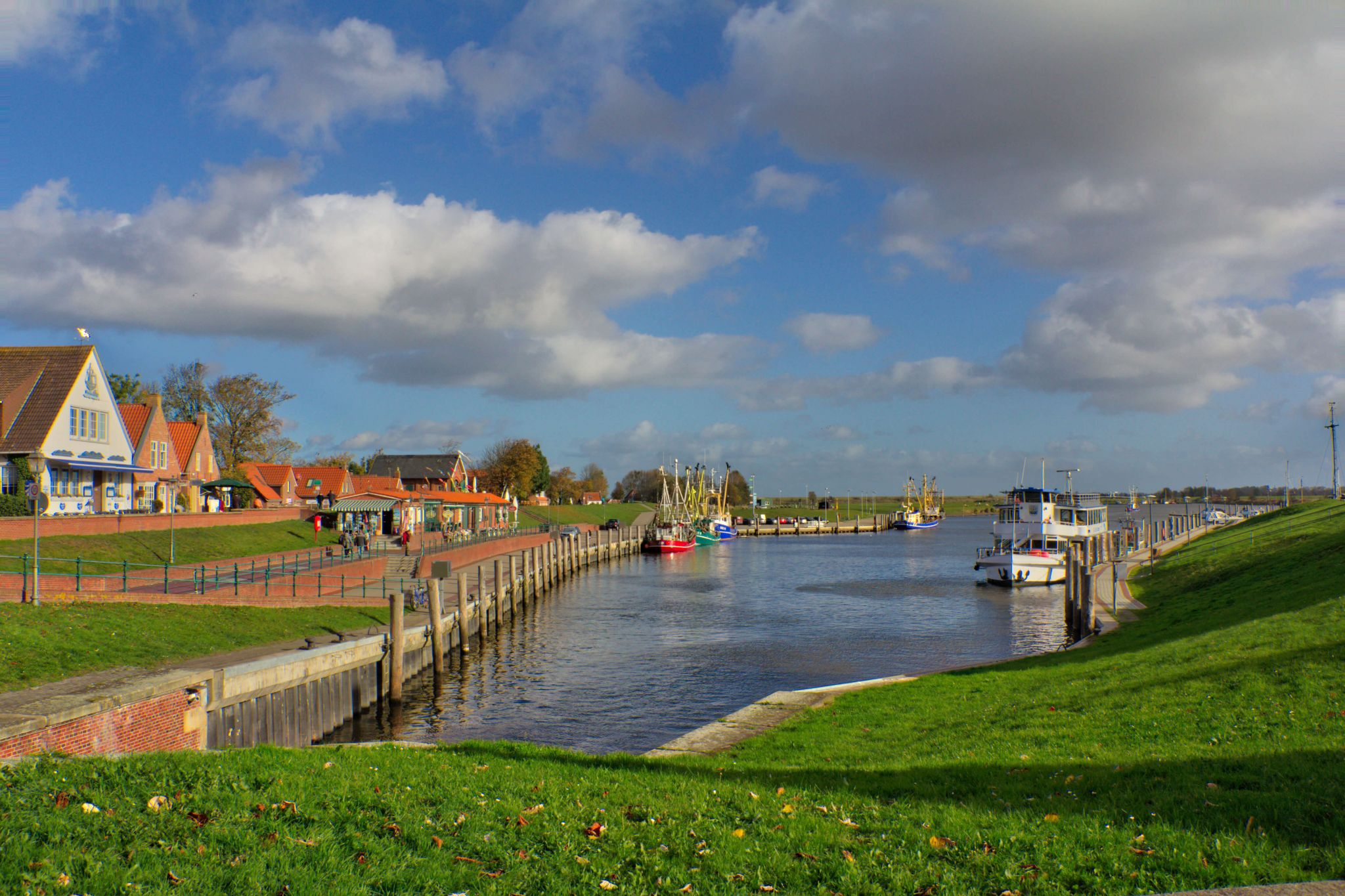 Greetsiel harbour, Germany