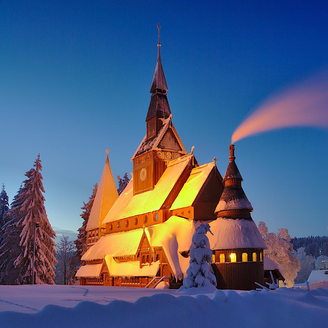Gustav-Adolf-stave-church, Germany