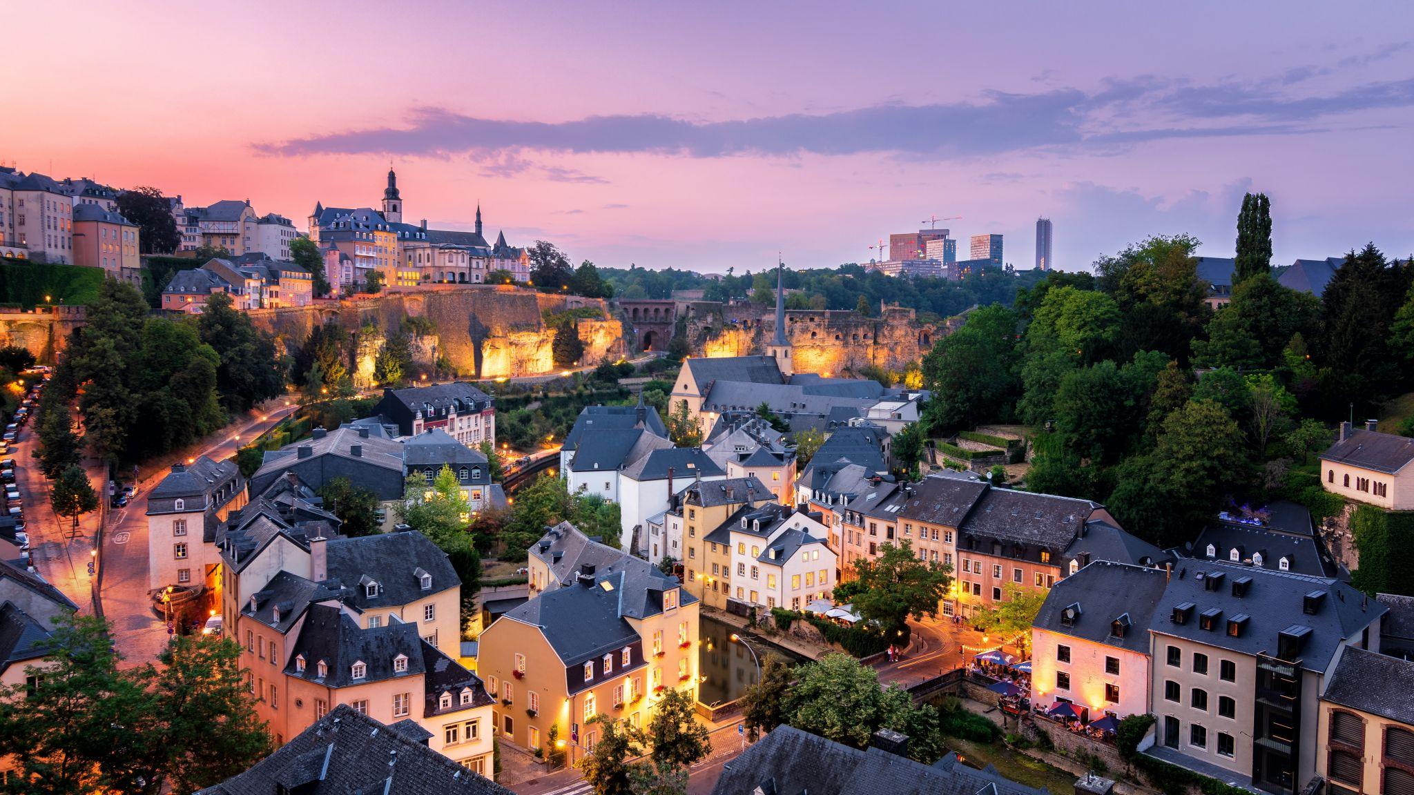 Le Chemin de la Corniche, Luxembourg