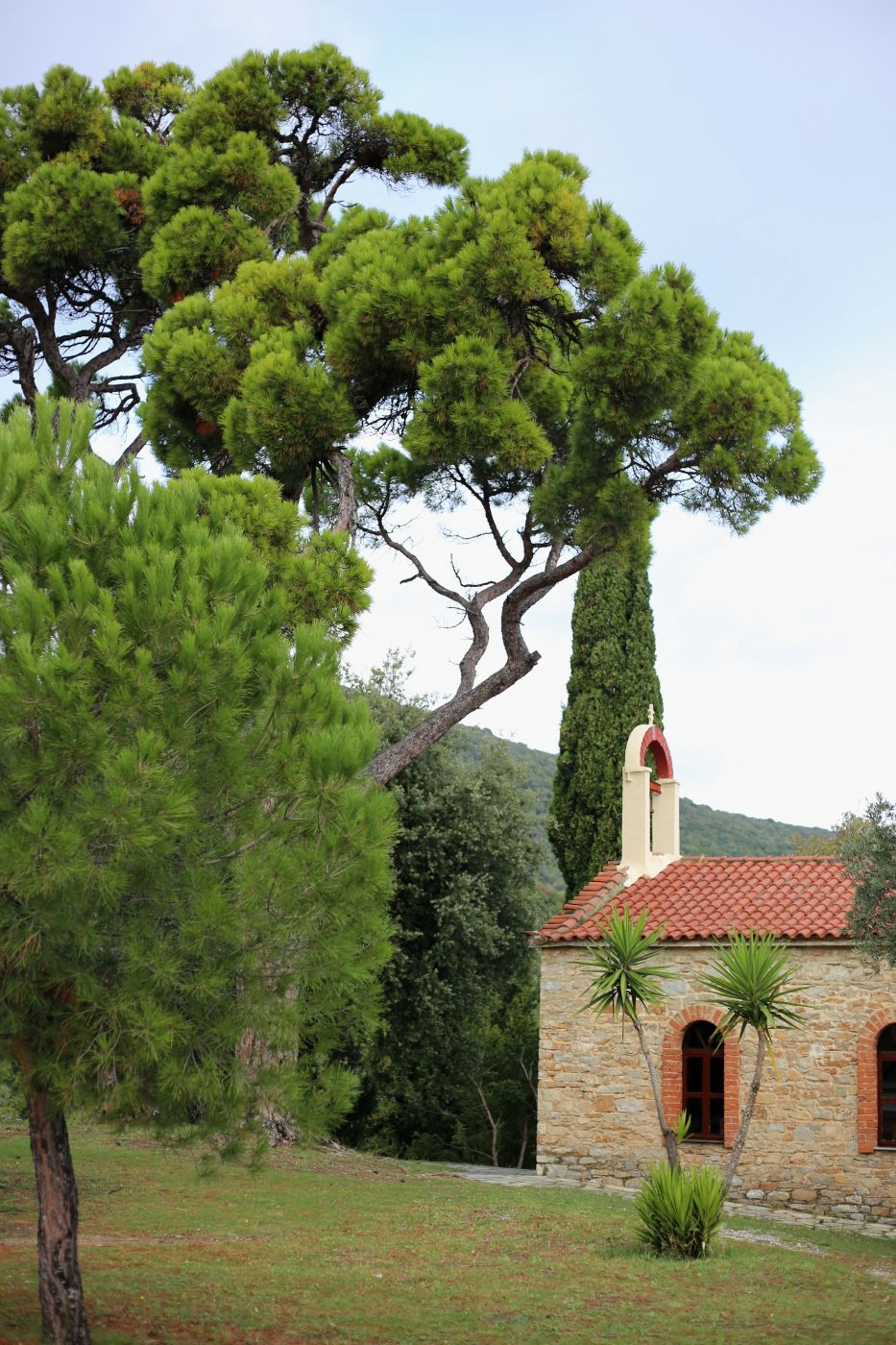 Monastero di Panagio Evangelistria, Greece