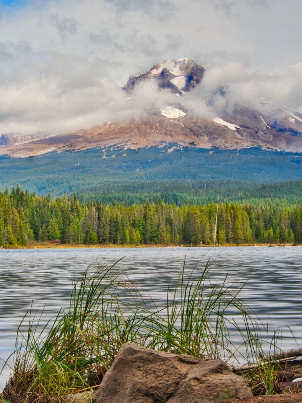 Mount Hood from Trillium Lake, USA