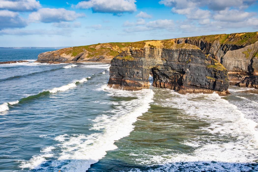 Nun's Beach Ballybunion County Kerry, Ireland