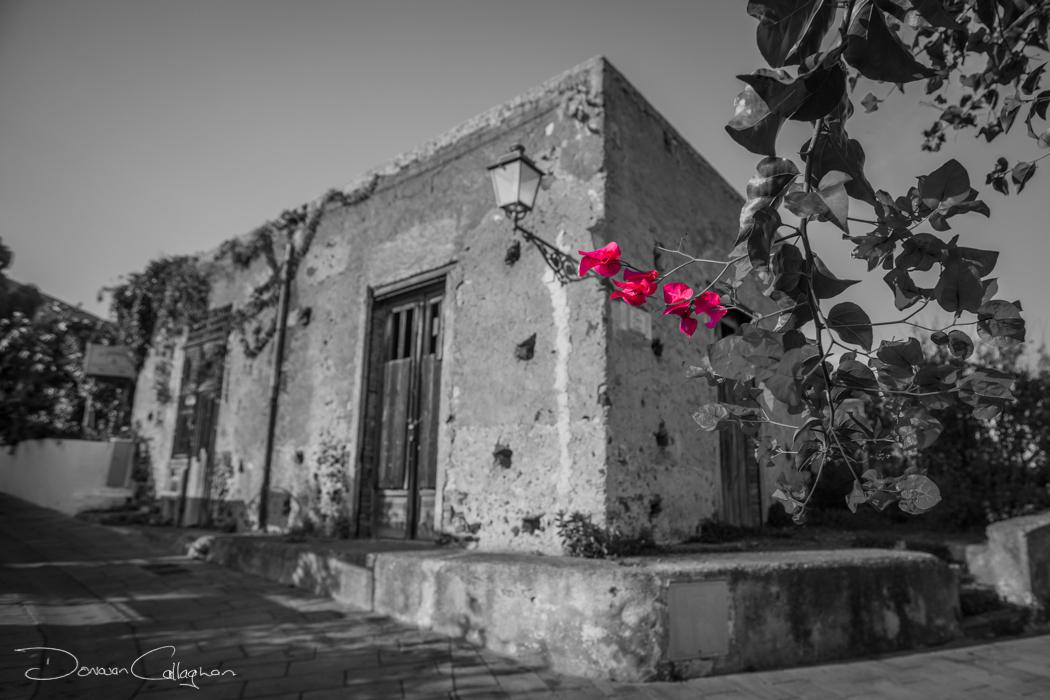 Old building Malfa Salina, Italy