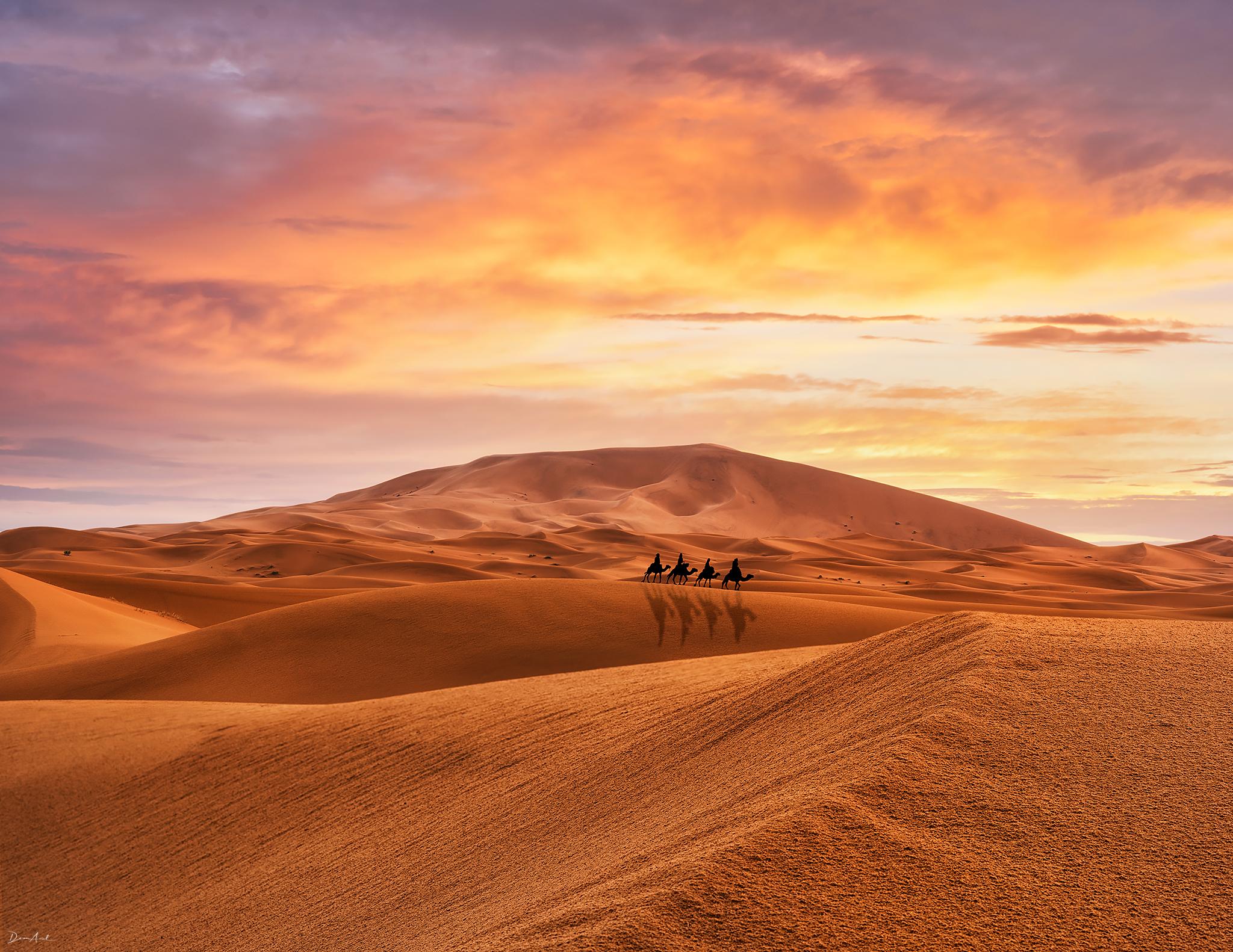 Sahara desert - Merzouga, Morocco