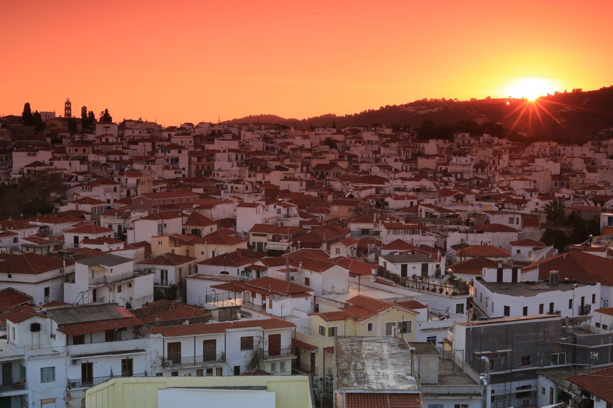 Skiathos Port / Town View, Greece