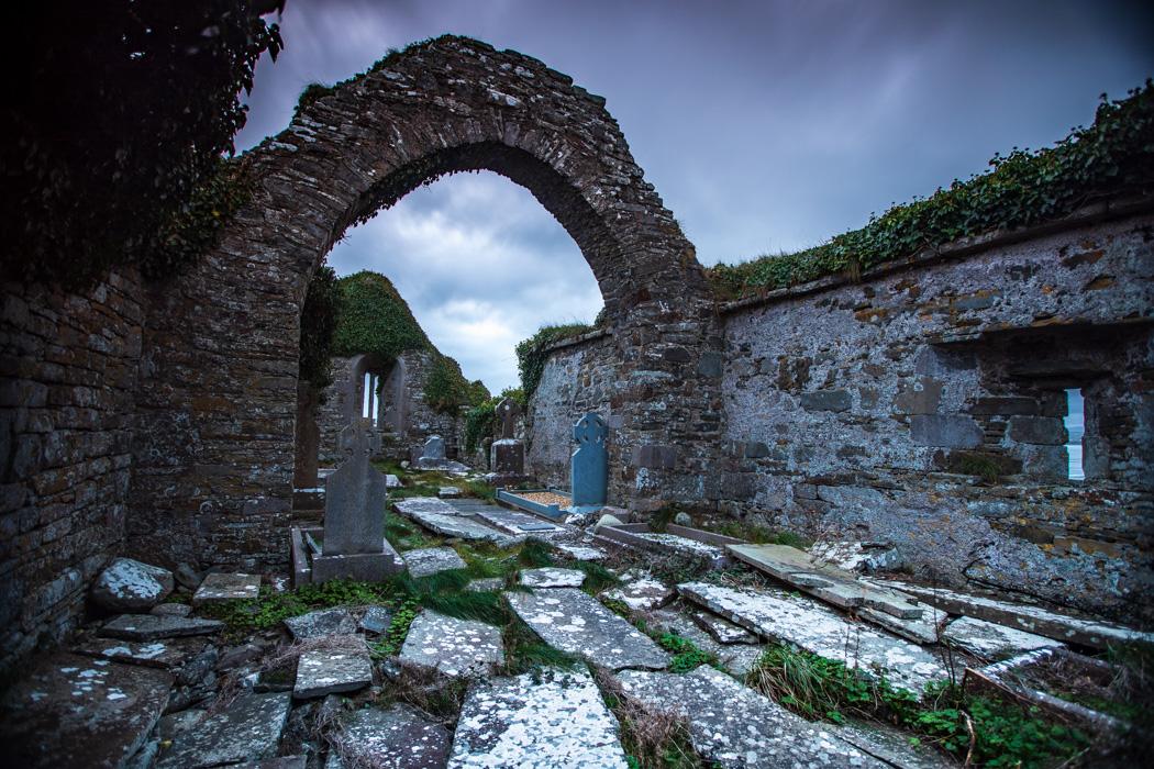 St Kilmacrehy Church Laghcloon, Co. Clare, Ireland