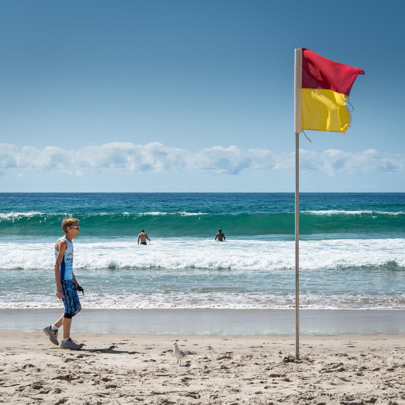 Surfers Paradise beach, Australia