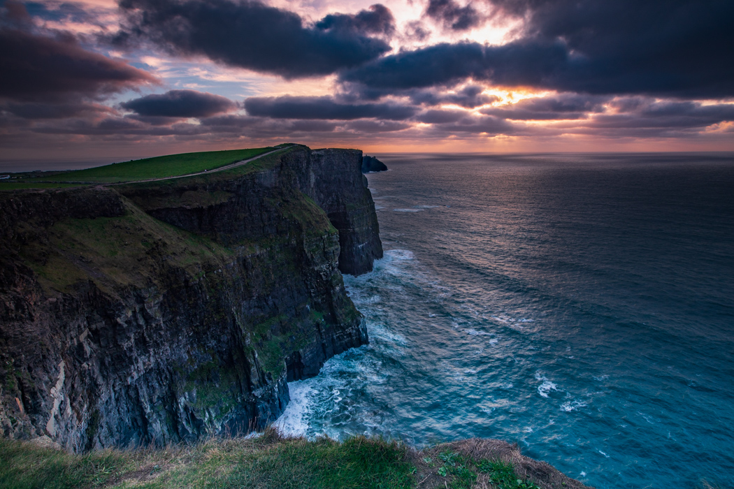 The Cliffs of Moher Sunset, Ireland