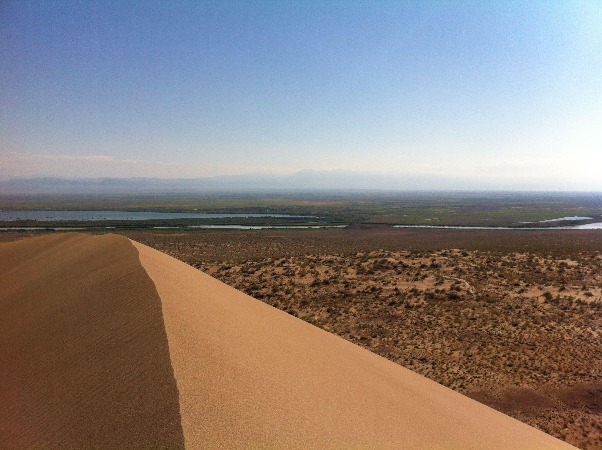 The Singing Dune, Altyn Emel NP, Kazakhstan