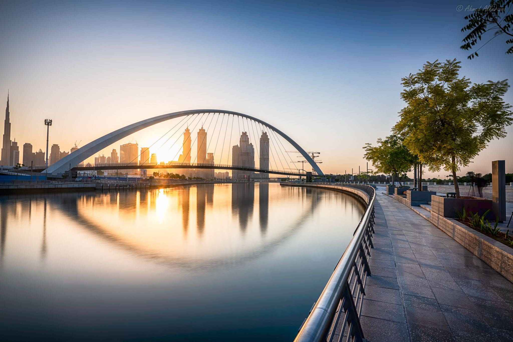 Tolerance bridge dubai, United Arab Emirates
