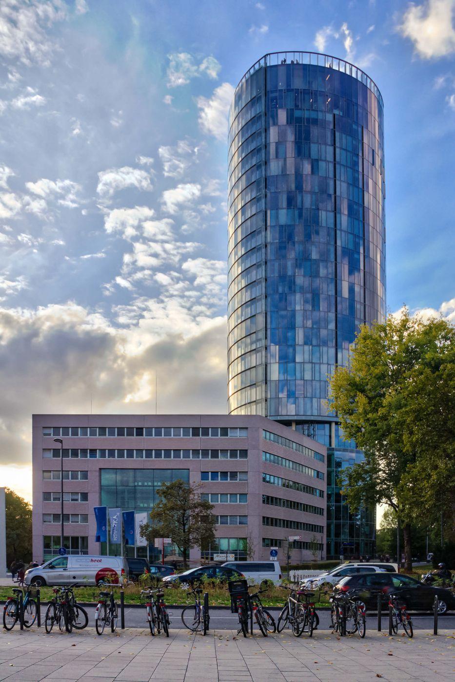 Triangle Tower from Ottoplatz, Germany