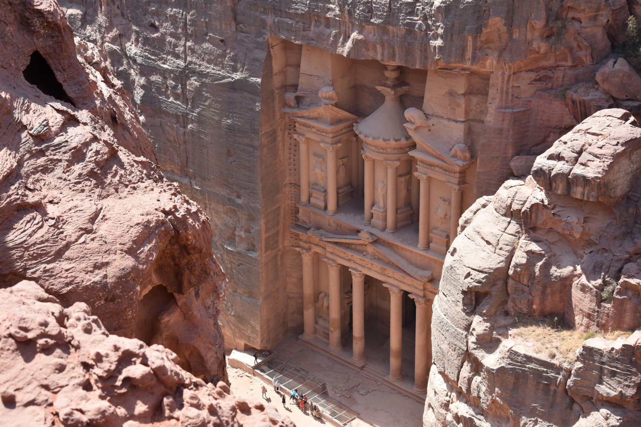 View over The Treasury, Jordan