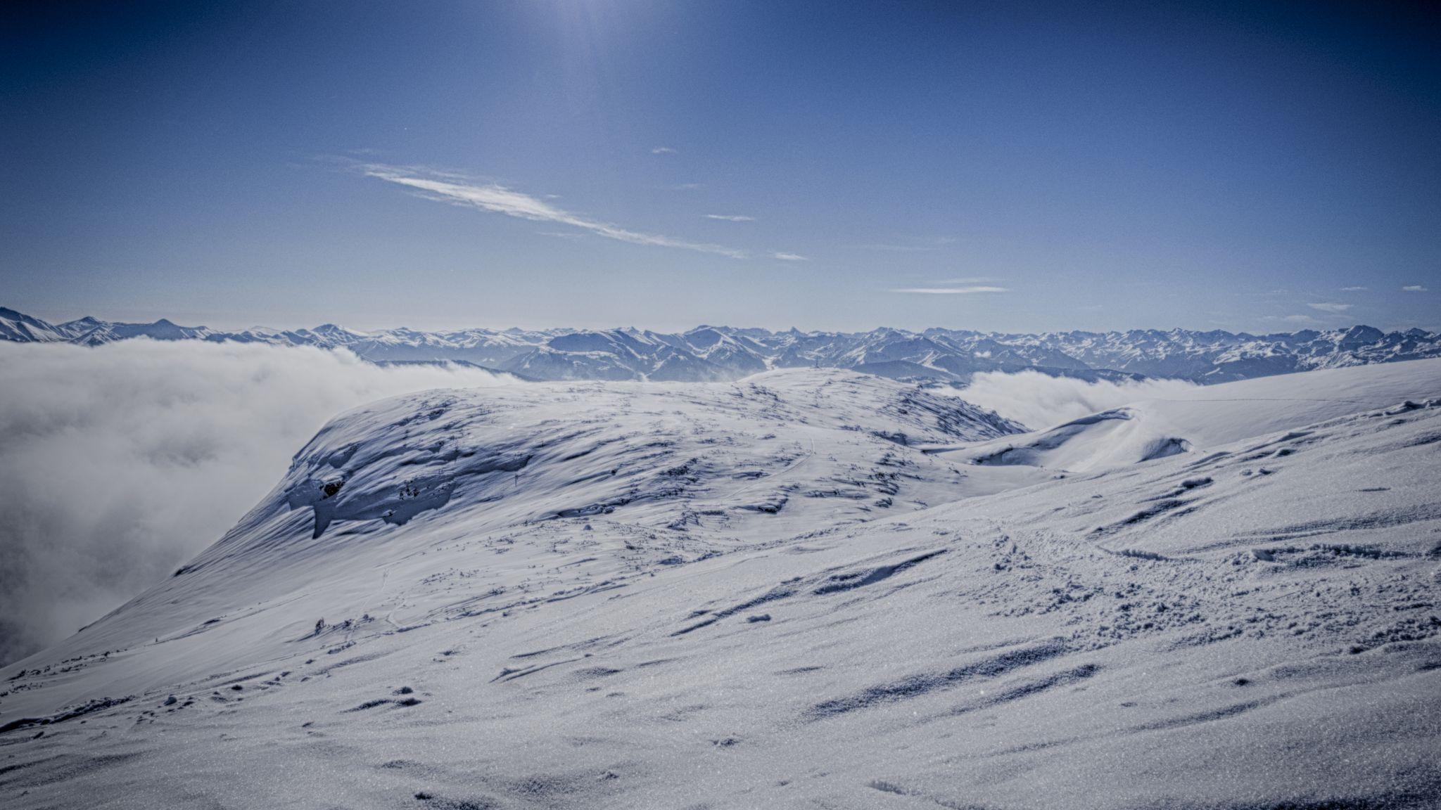 Backcountry-Skiing to Angerkogel, Austria