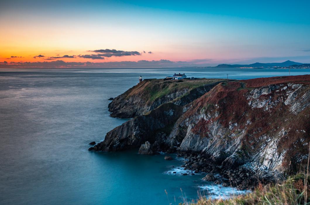 Baily Lighthouse on Howth Head, Dublin, Ireland