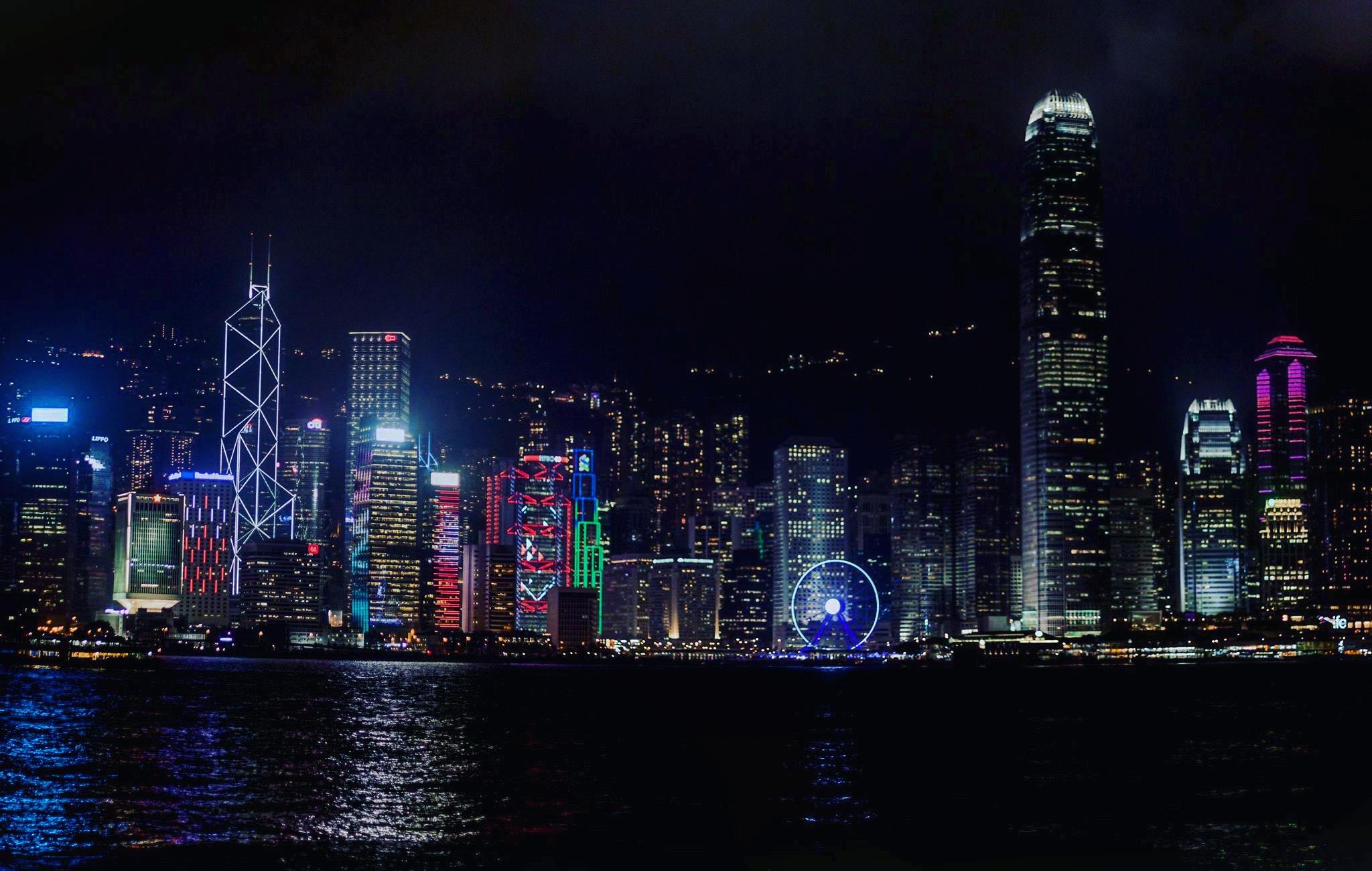 Bay opposing the victoria bay, Hong Kong
