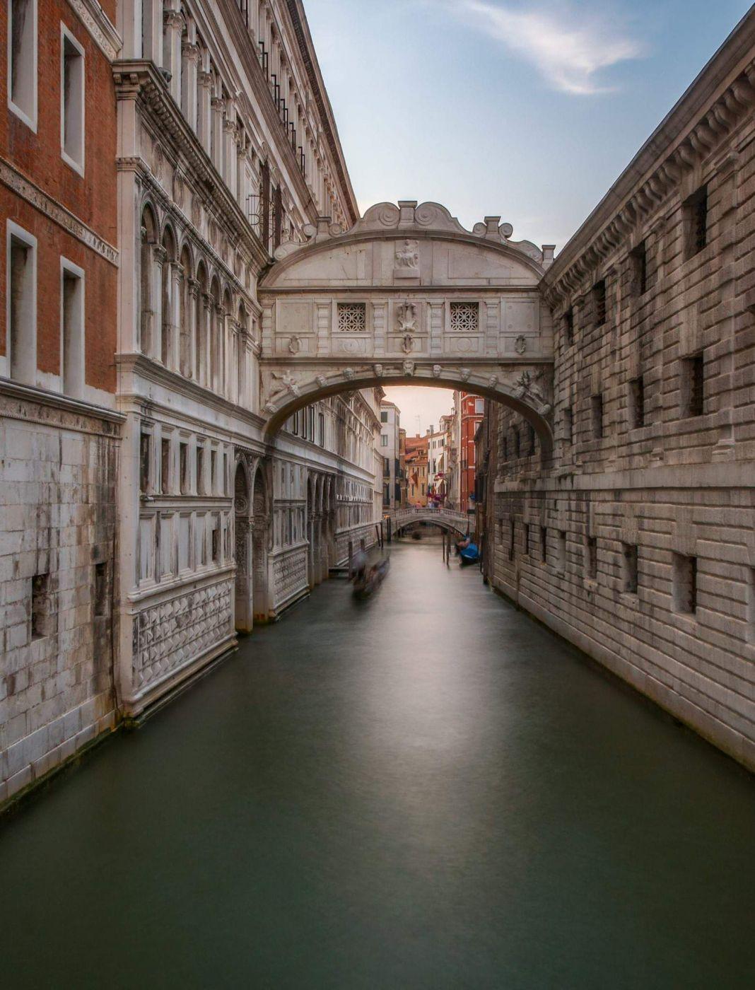 Bridge of sighs, Italy