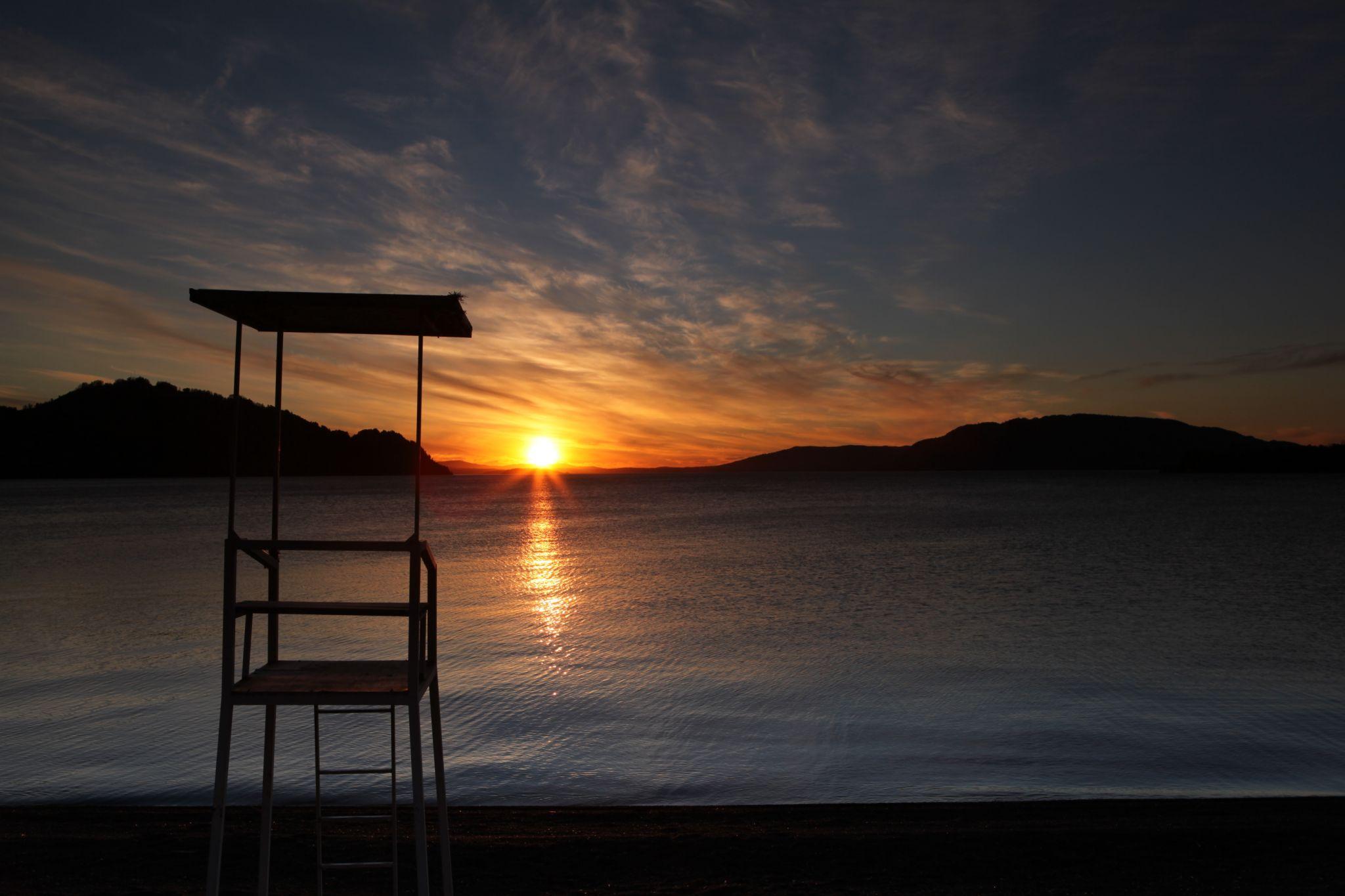 Chile, Los Rios, Lago Calafquen, Chile