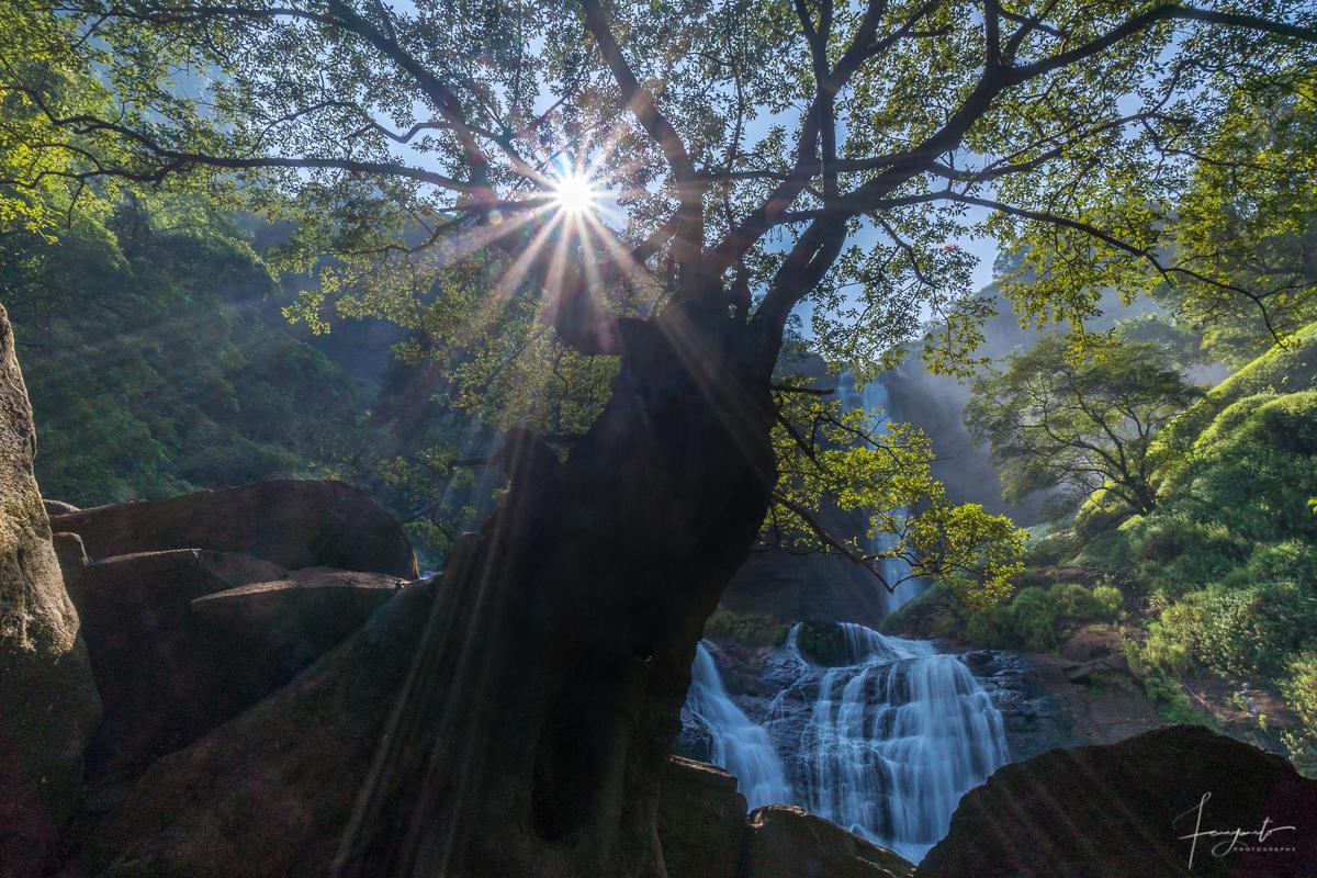 Cikanteh Waterfall a.k.a Curug Cikanteh, Indonesia