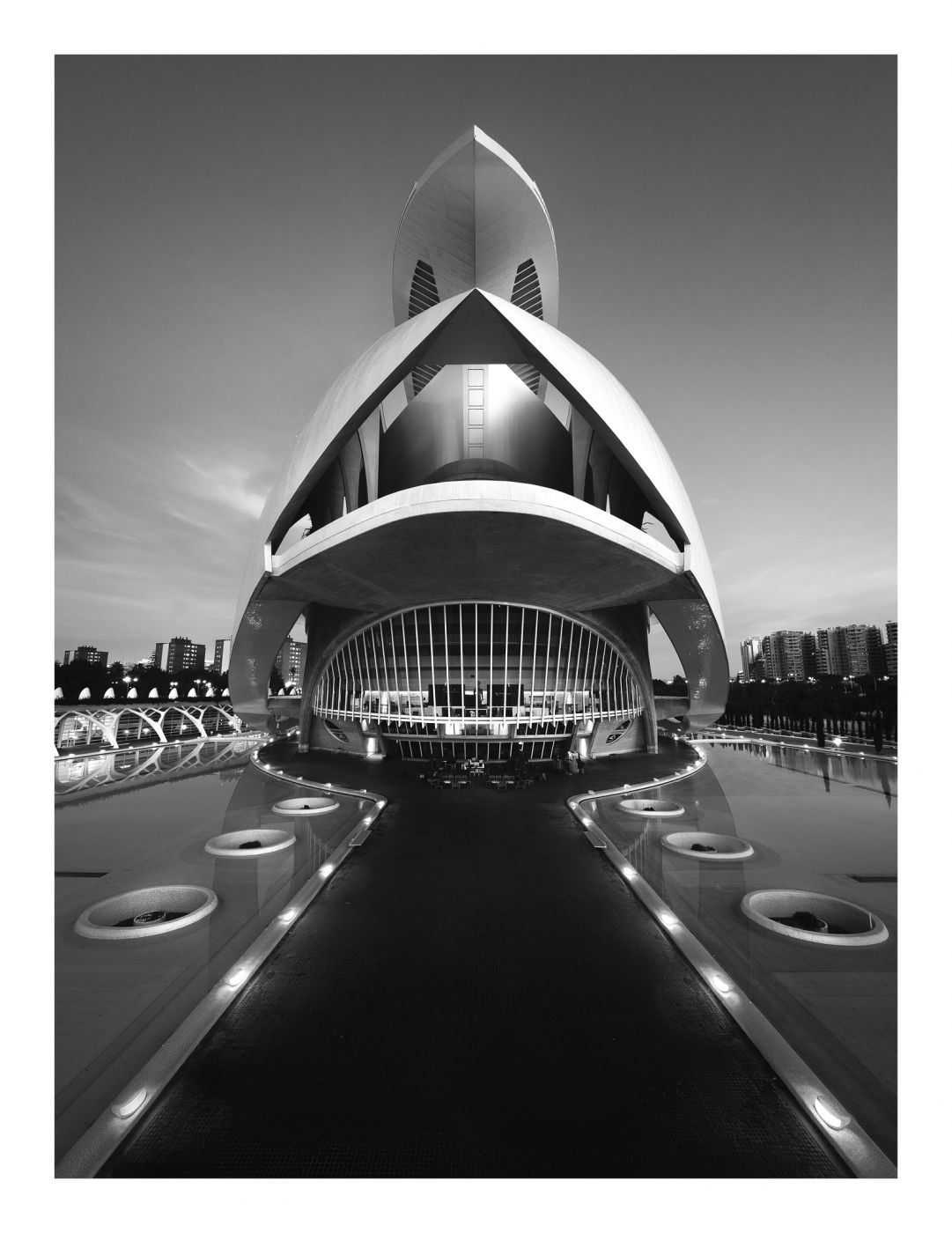 City of Arts and Sciences, From the Bridge, Spain