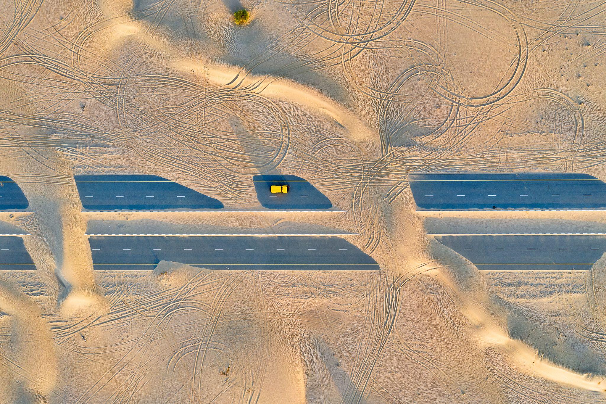 Desert Vs Civilization, United Arab Emirates