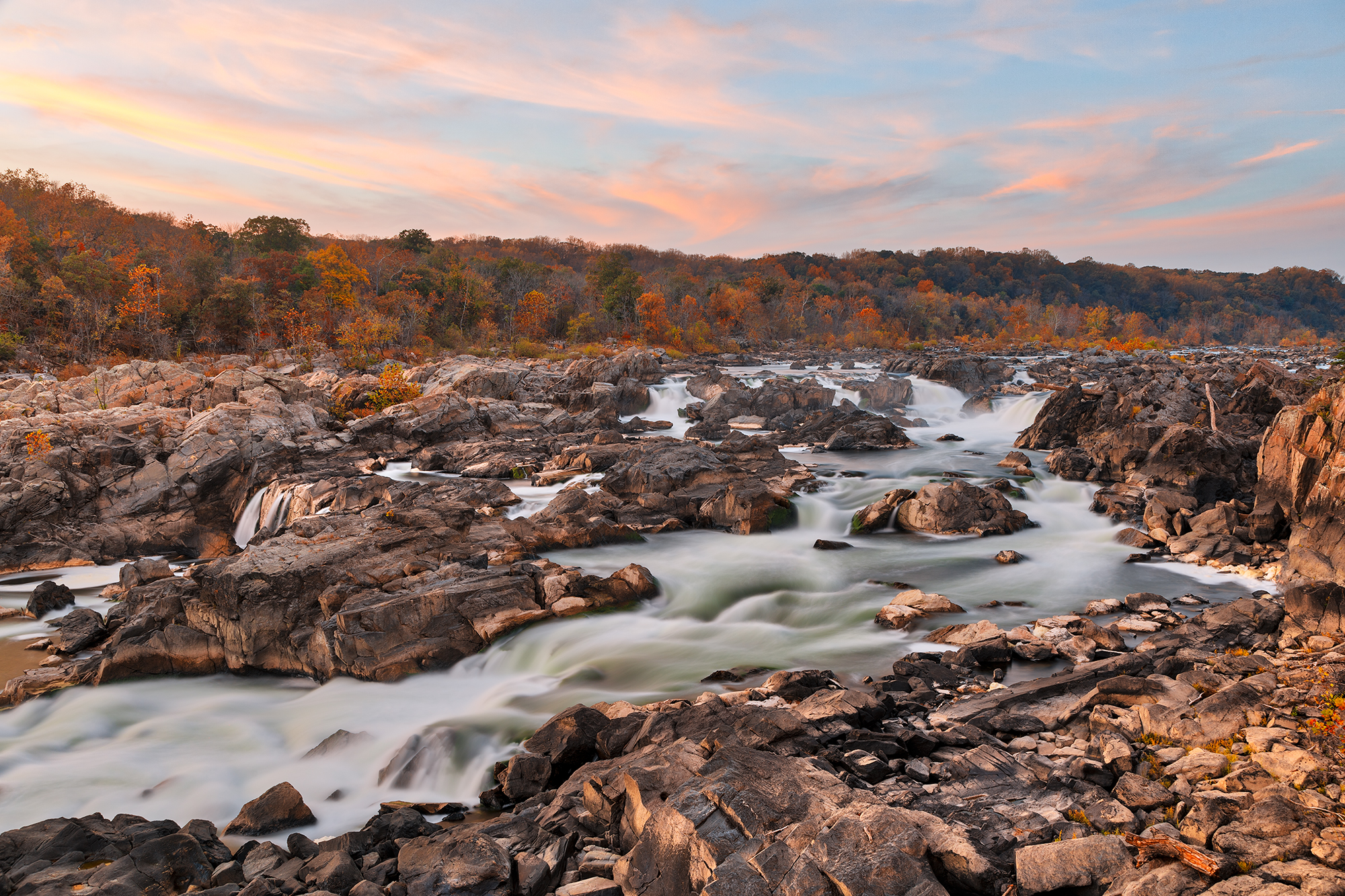 Great Falls / Olmsted Island Viewpoint (Maryland), USA