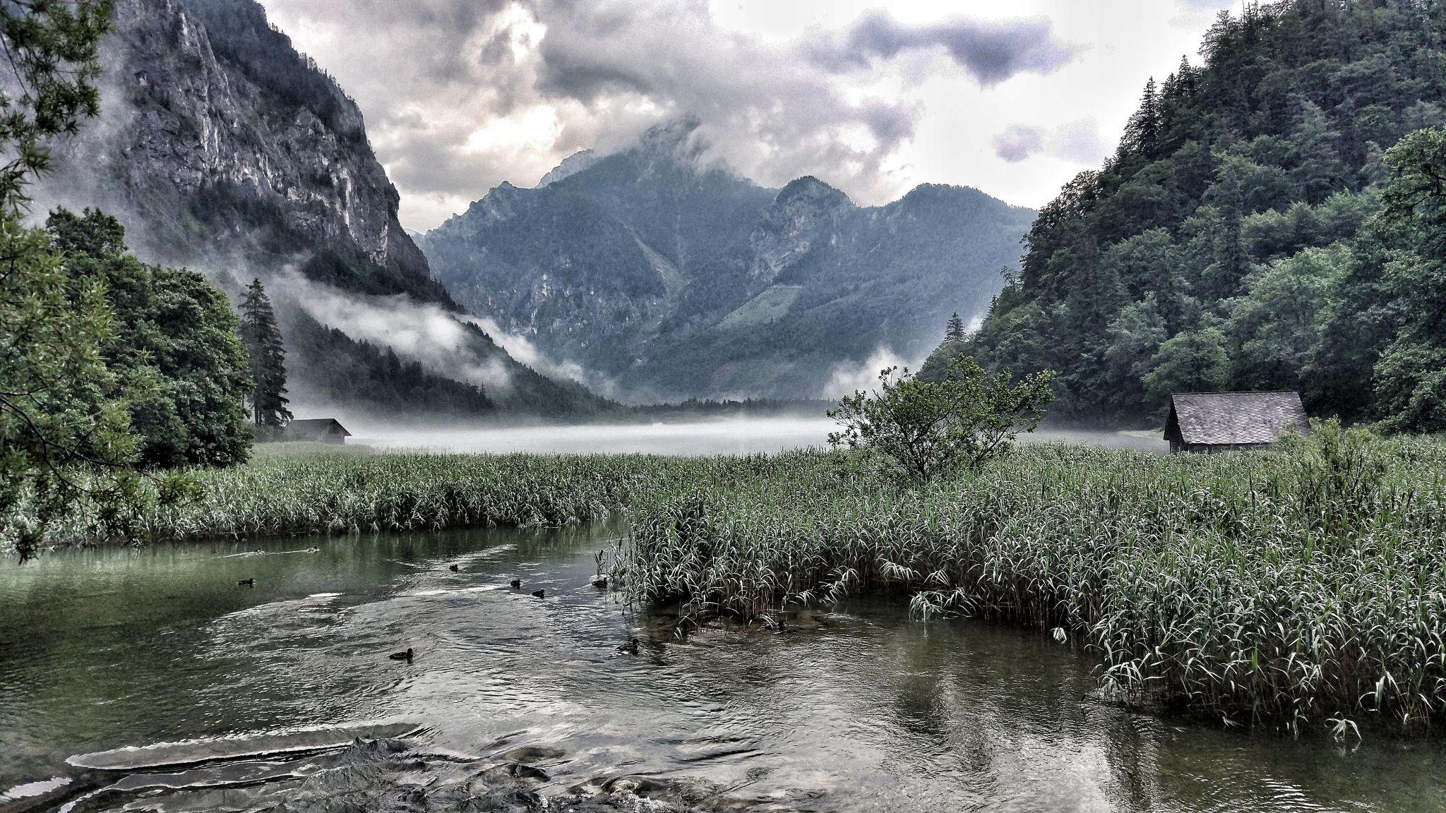 Leopoldsteiner See, Austria