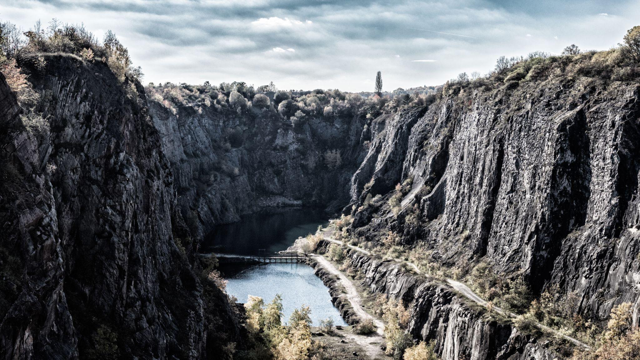 Lom Velká Amerika, Czech Republic
