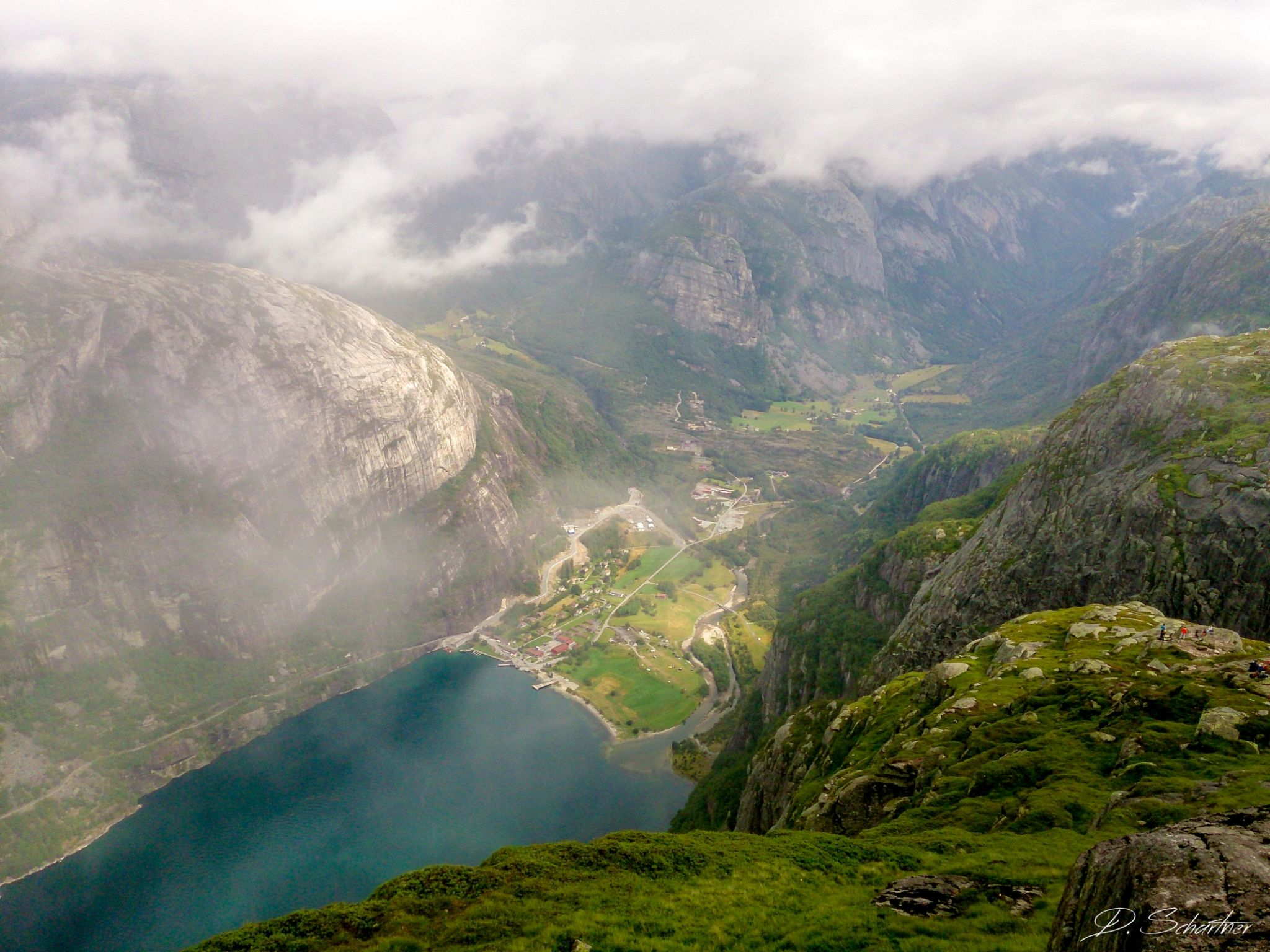 Lysebotn from top, Norway