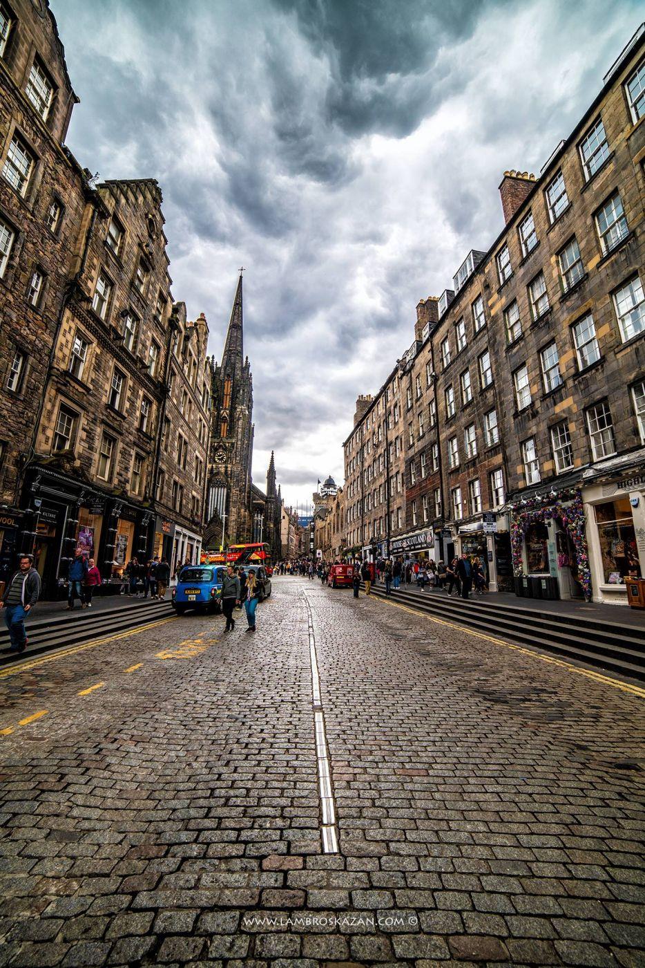 Old city of Edinburgh, United Kingdom
