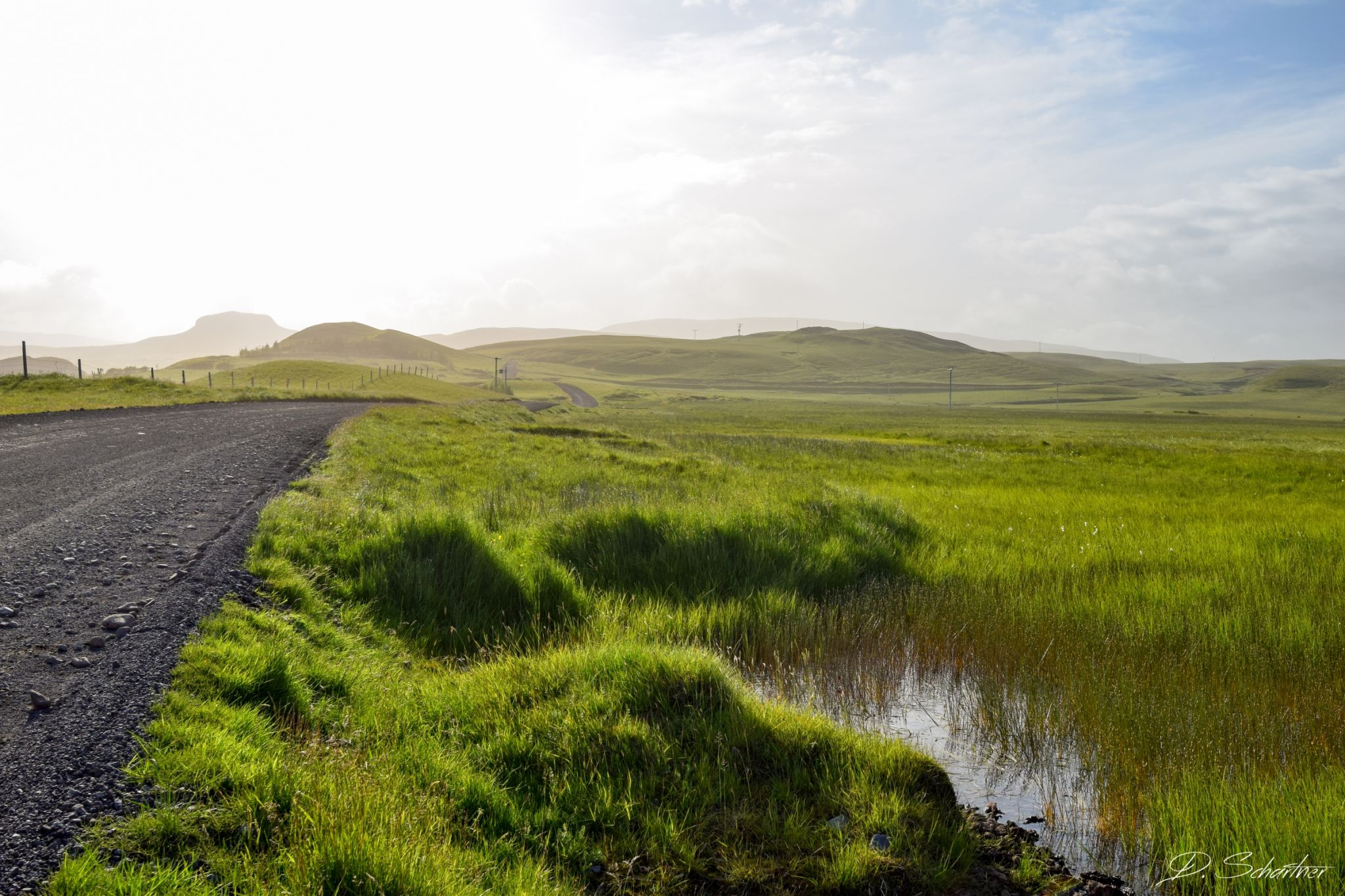 On the way to Fjaðrárgljúfur, Iceland