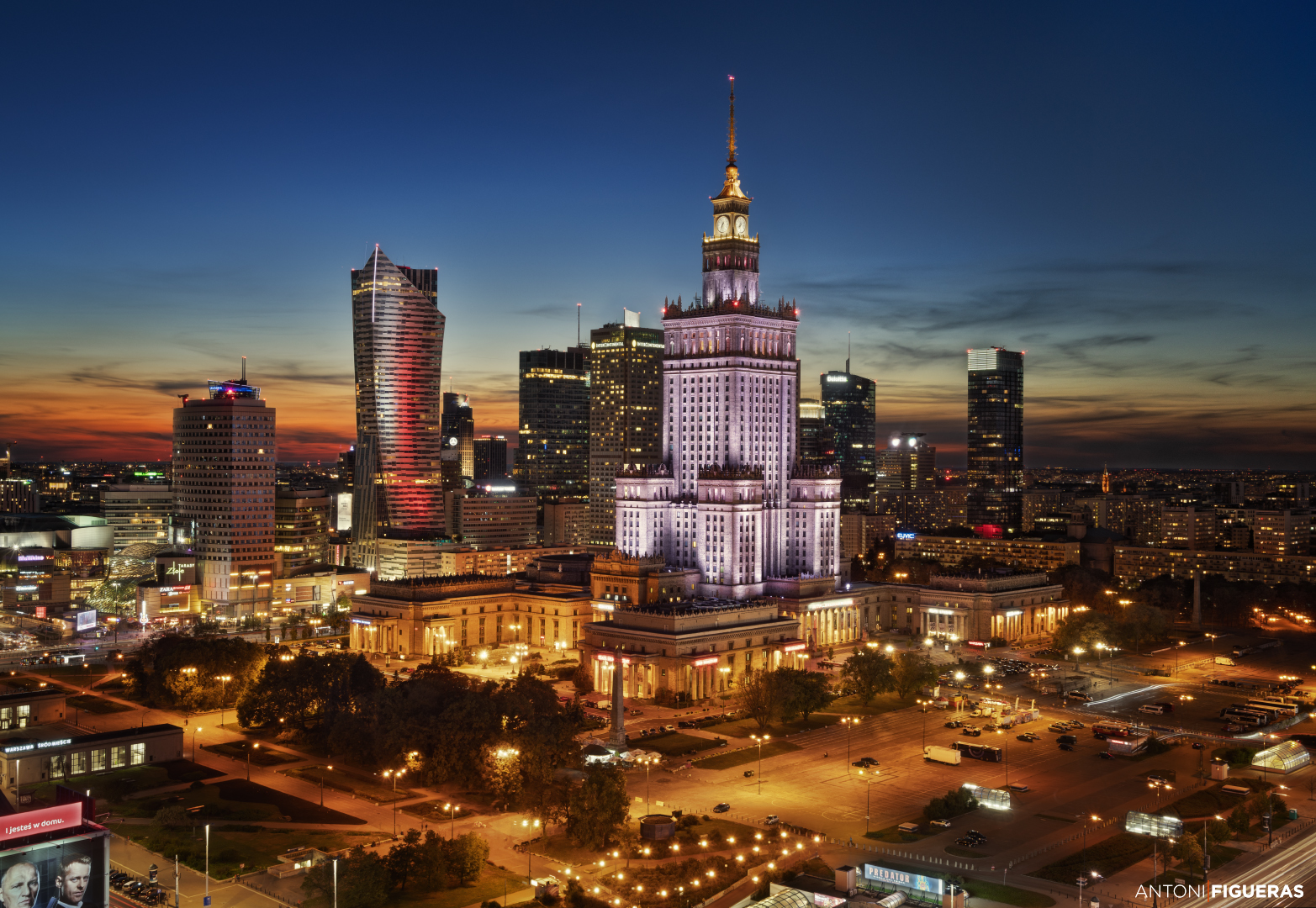 Palace of Culture and Science, Poland