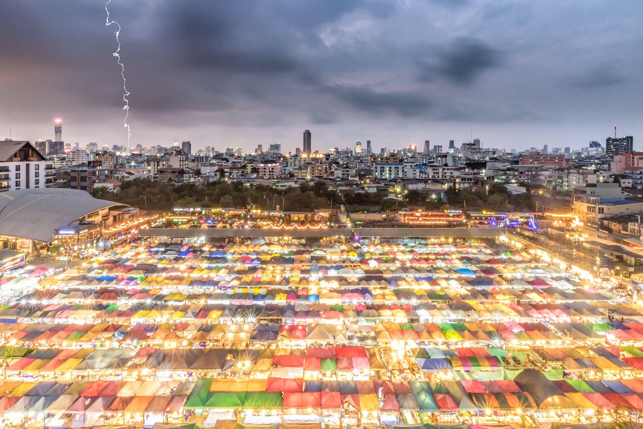 Ratchada Night Market, Thailand