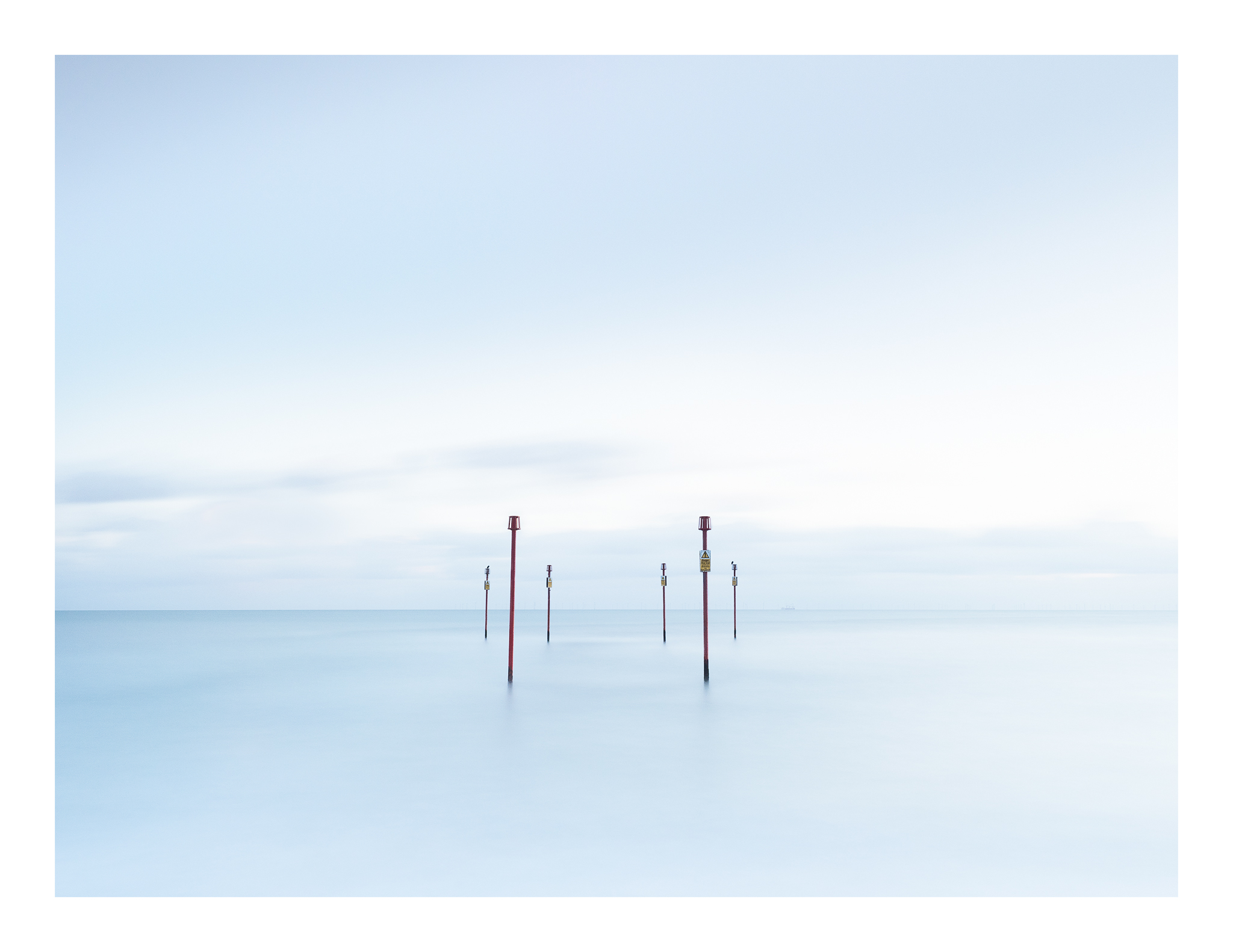 Sea Posts at Southwick, United Kingdom