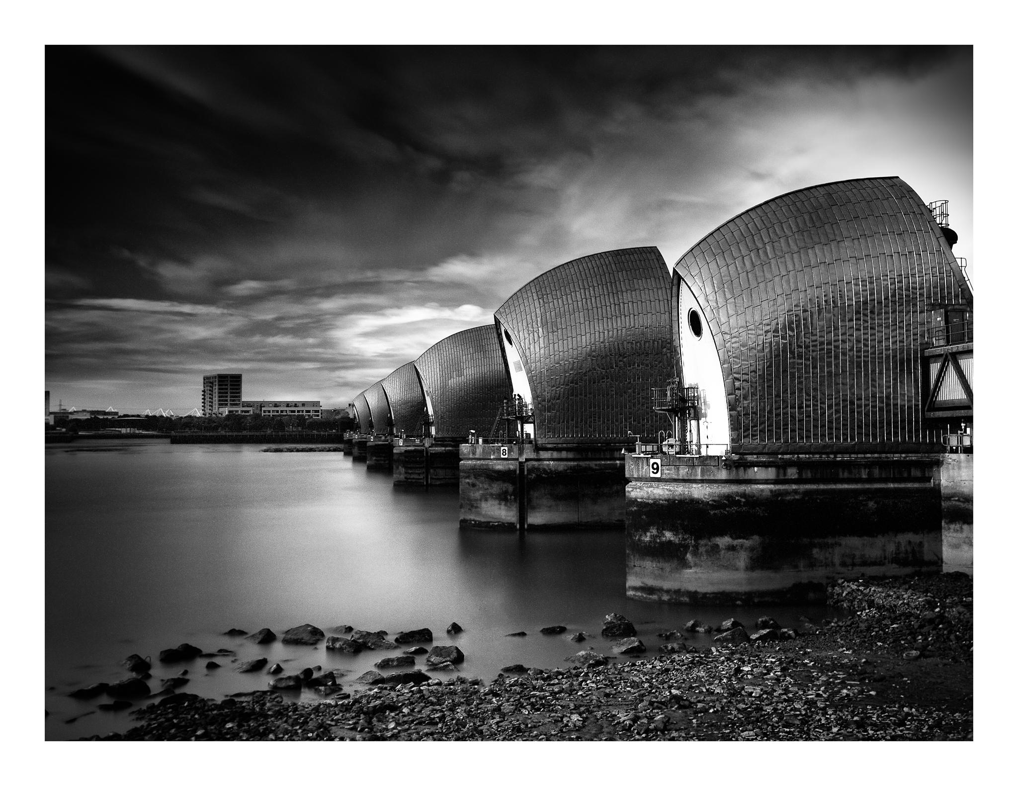 Thames Barrier South Side, United Kingdom
