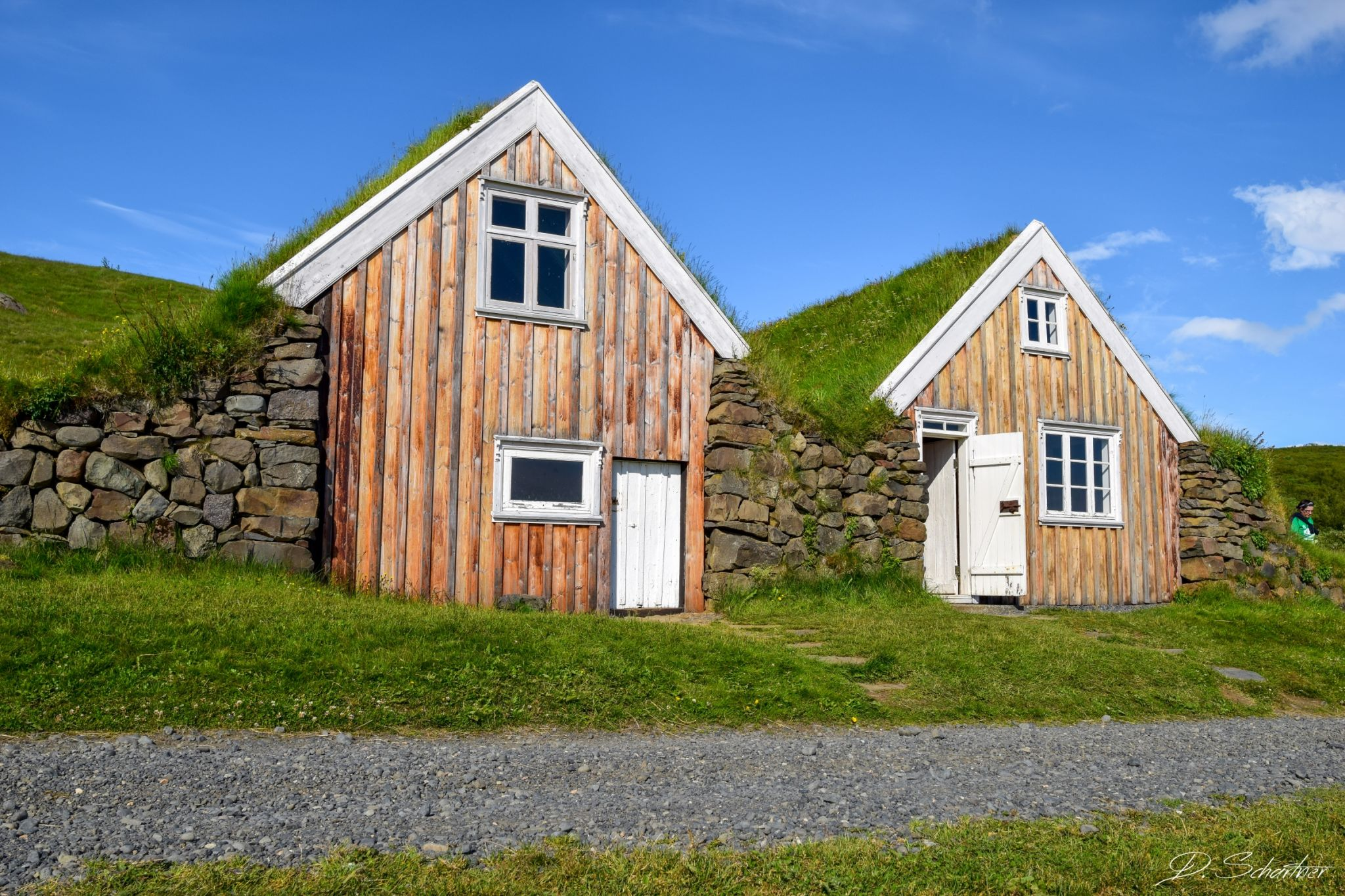 traditional Icelandic houses (Sel), Iceland