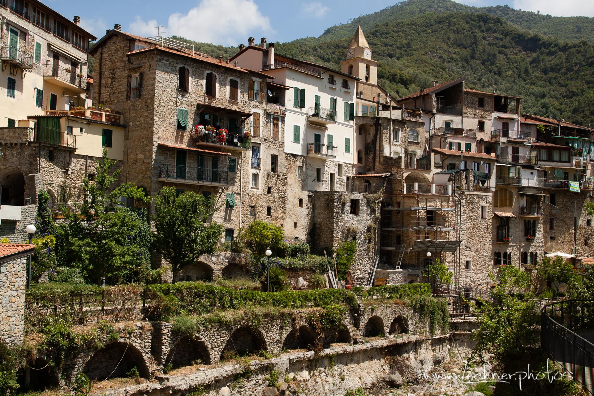 Ancient village Rocchetta Nervina, Italy