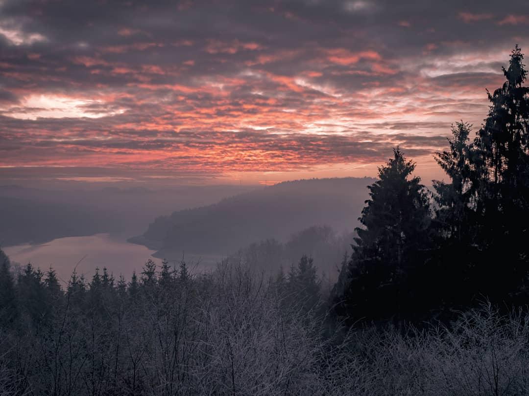 Aussichtspunkt Wiehltalsperre, Germany