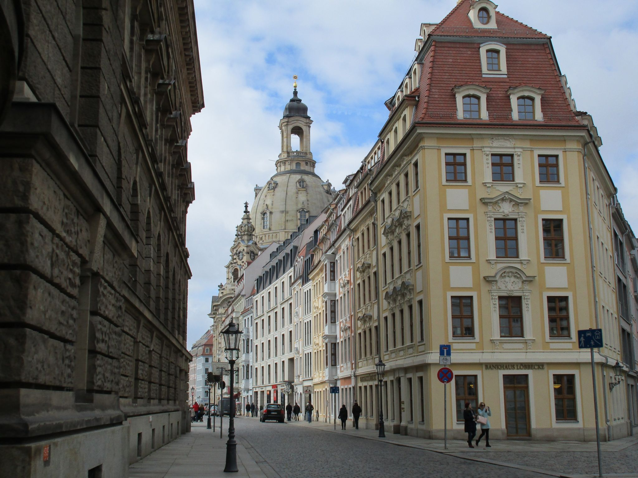 Dresden's Streets, Germany