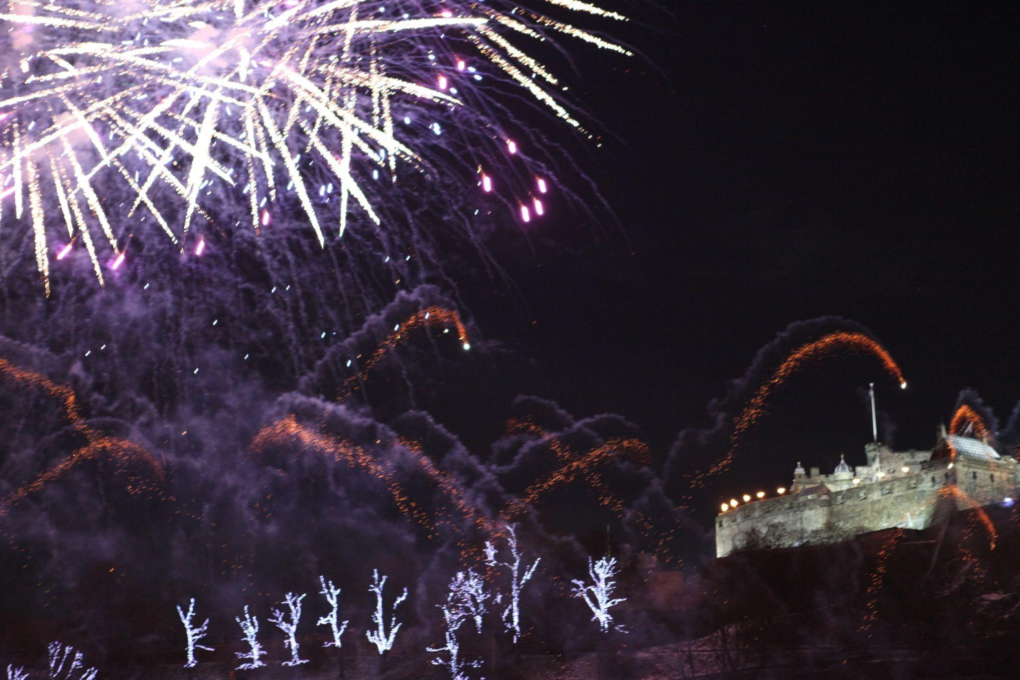 Edinburgh Castle Hogmanay, United Kingdom