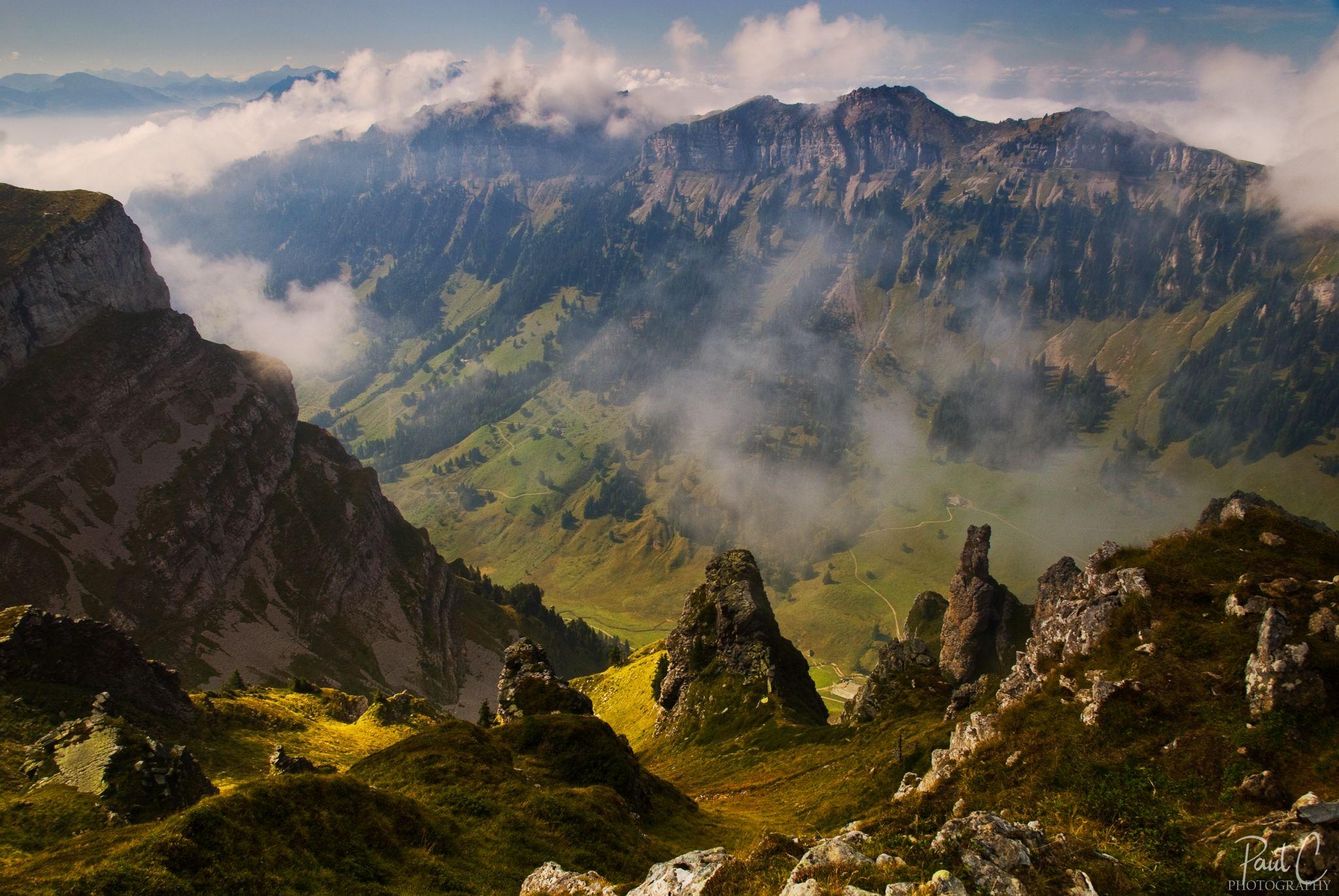 Güggisgrat ridge, Switzerland