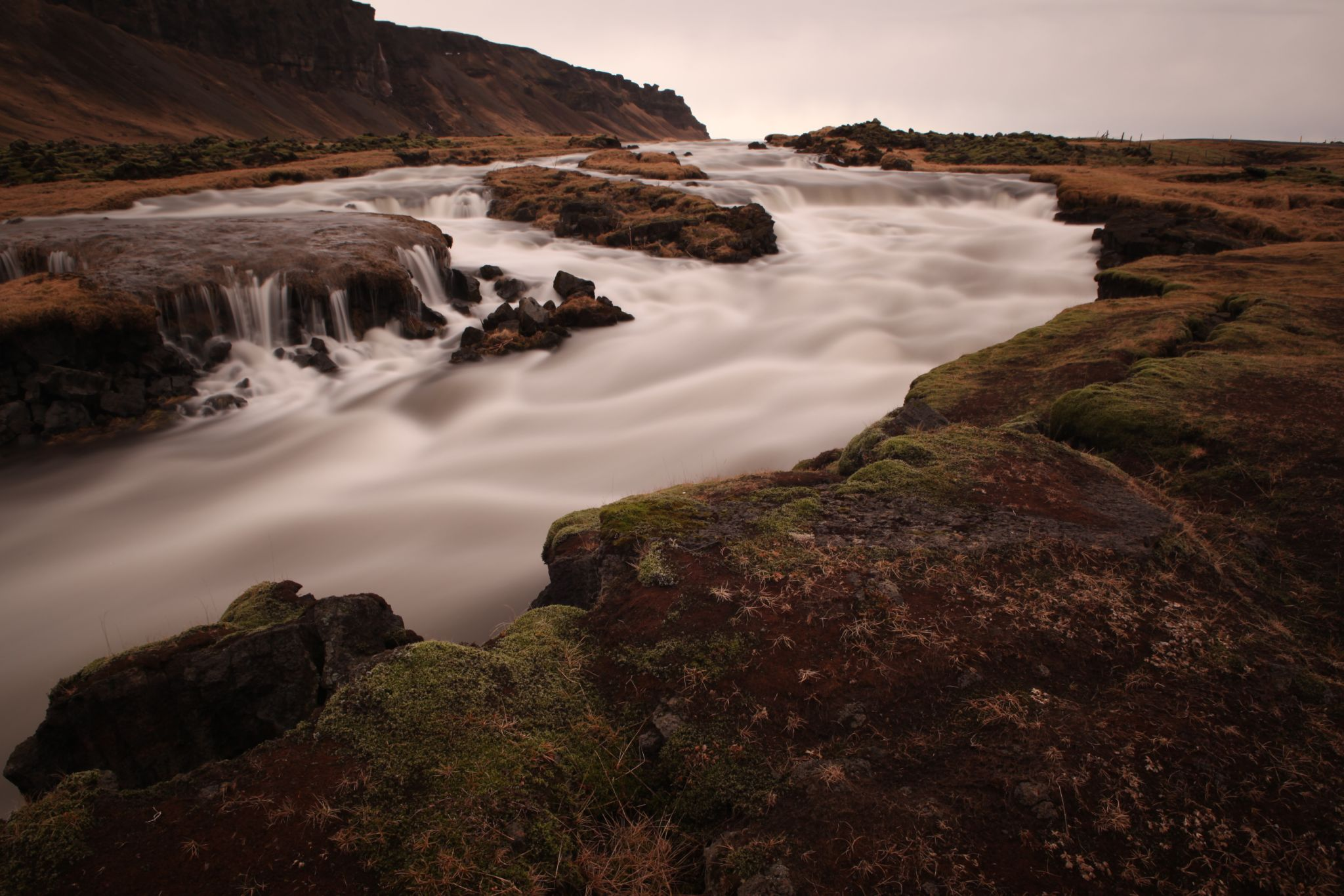 Icelandic Waterfall, Iceland