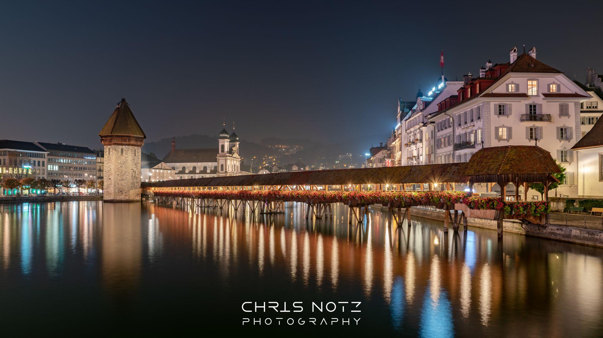 Kapellbrücke Luzern, Switzerland
