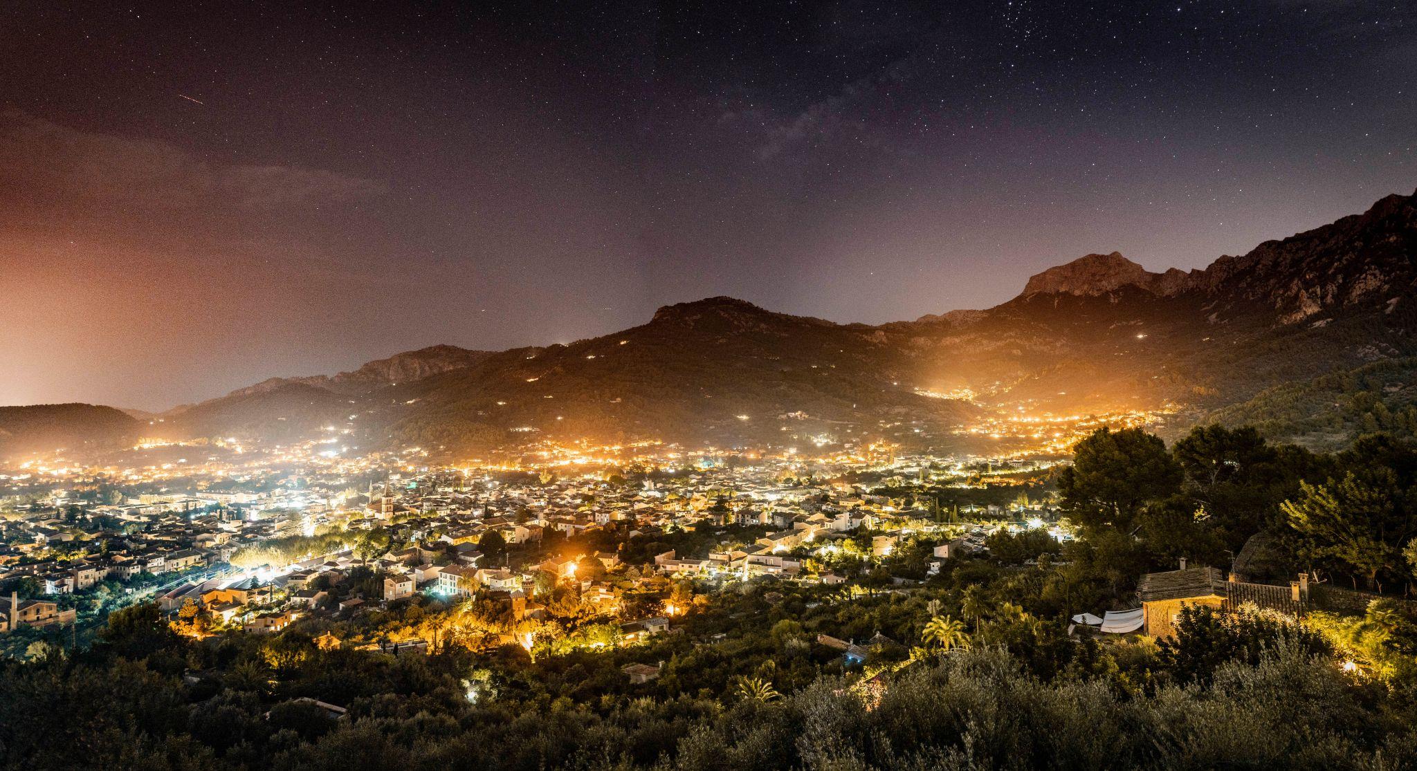 Sóller Nightscape, Spain