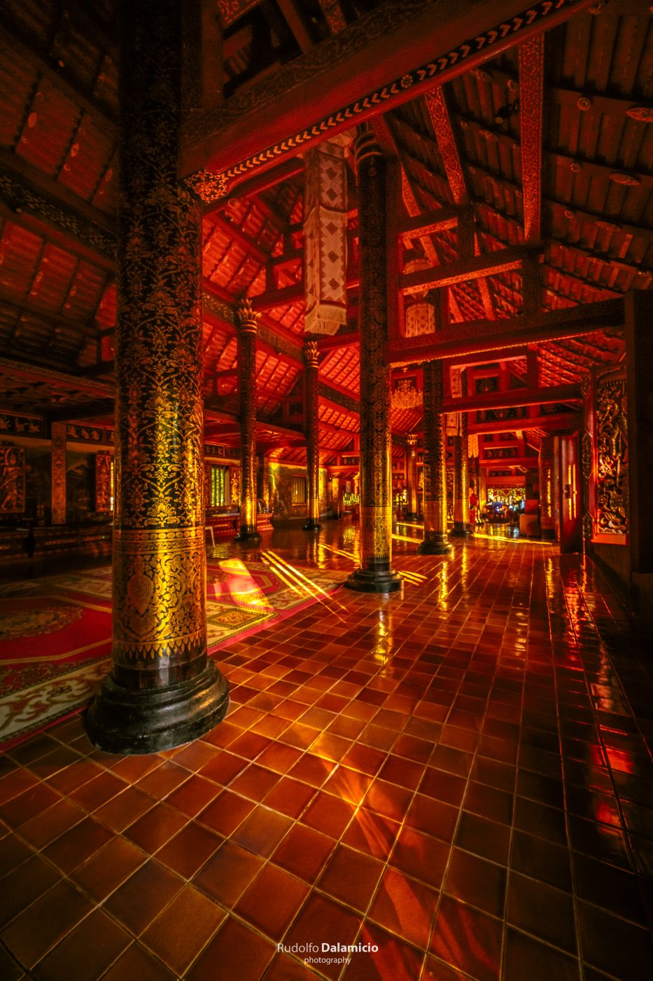 The Red Temple, Thailand